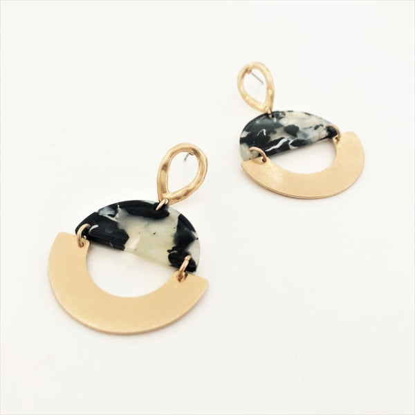 Crescent Hand Earrings - Fig and Fi