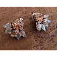 Jewelled Stud earrings - Fig and Fi