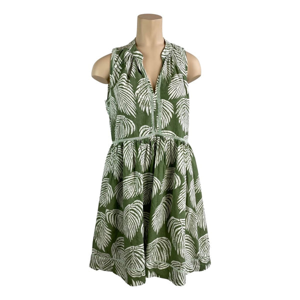 Palmy Cotton Dress - Fig and Fi