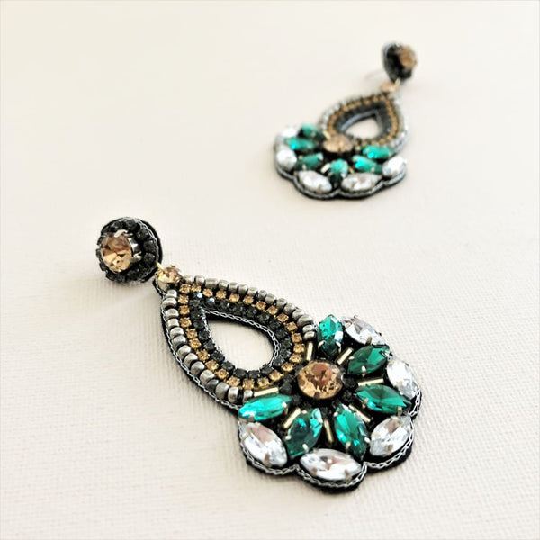 Serena Statement Earrings! - Fig and Fi