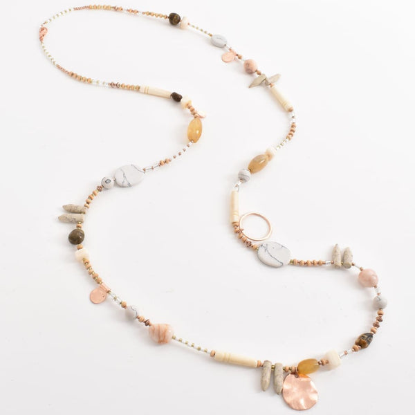 Stone Multi Necklace - Fig and Fi