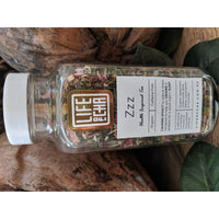ZZZ - Calming herbal tea in Vintage Glass Jar - Fig and Fi