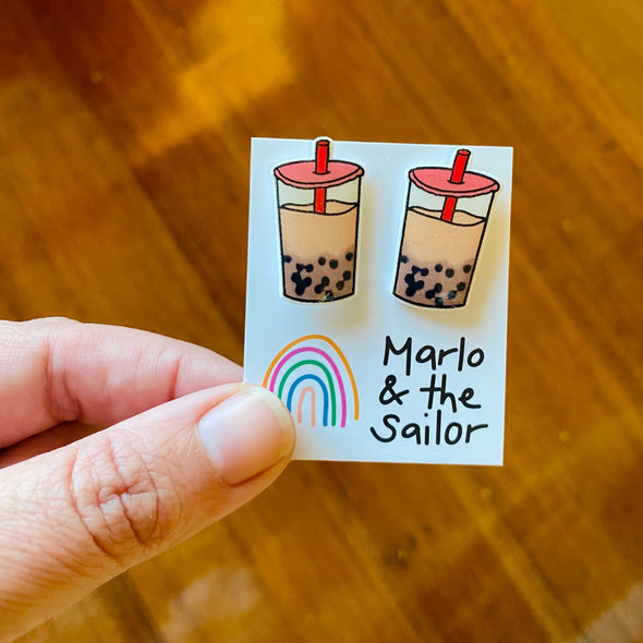 Bubble Tea studs!