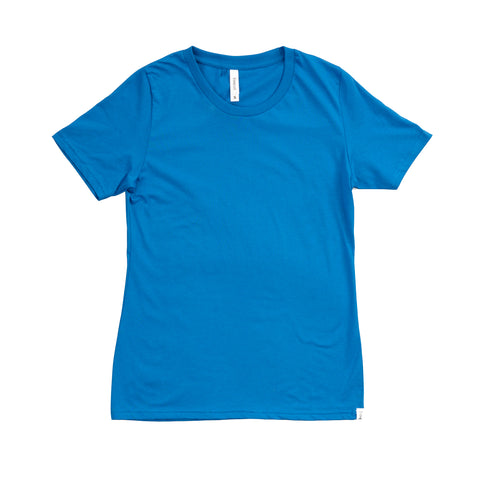 T-SHIRT | FEMALE | COBALT