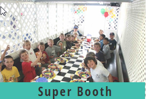 Go Kart World Party Super Booth