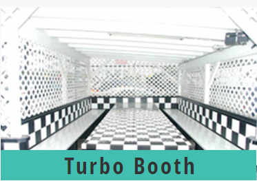 Go Kart World Party Turbo Booth