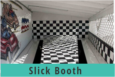 Go Kart World Party Slick Booth
