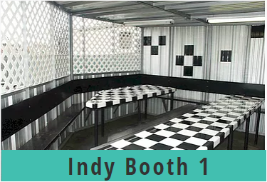 Go Kart World Party Indy Booth 1