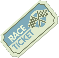 Picture of a Race Ticket