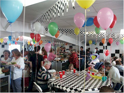 Go Kart Party Banquet Room
