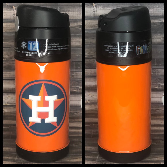READY TO SHIP-  Astros Lunch Thermos