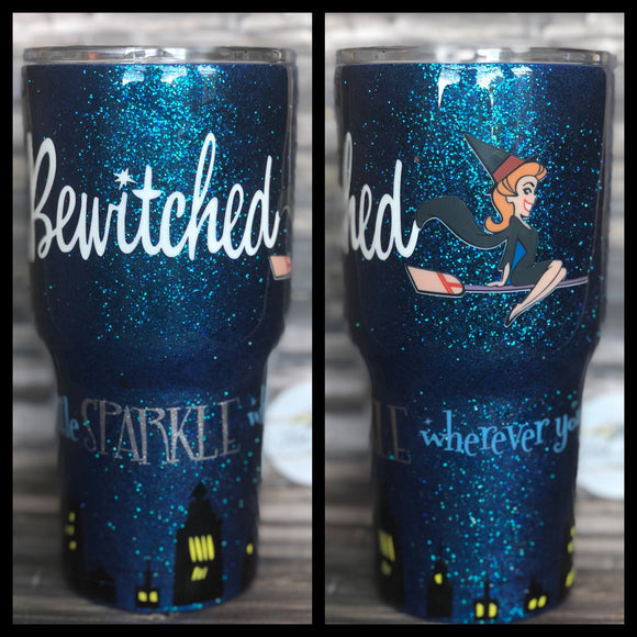 Bewitched Glitter Tumbler