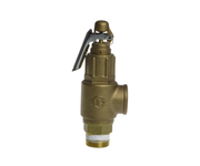 "Pressure Relief Valve 1 1/2"" With Lever 1034kpa"
