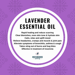 lavender essential oil - Mockingbird Apothecary