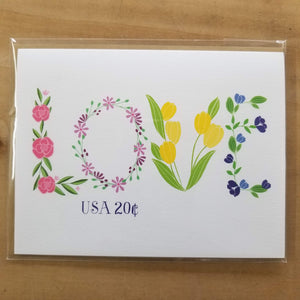 Pen & Paint Greeting Cards