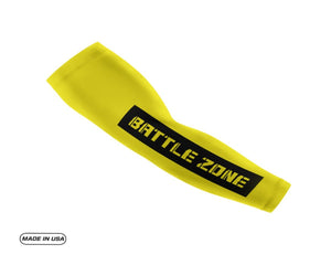 Yellow Battle Zone Arm Sleeve