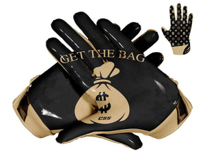 Thumbnail Black $ Bag Custom Football Glove Design