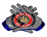 Palms Blue Power Ranger Football Glove