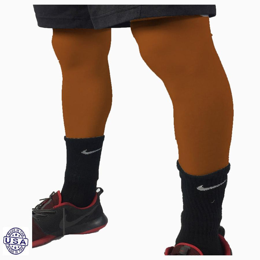 Pair of Longhorns Burnt Orange Basketball Leg Sleeves