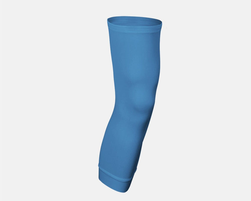 Carolina Blue Single Basketball Compression Leg Sleeve
