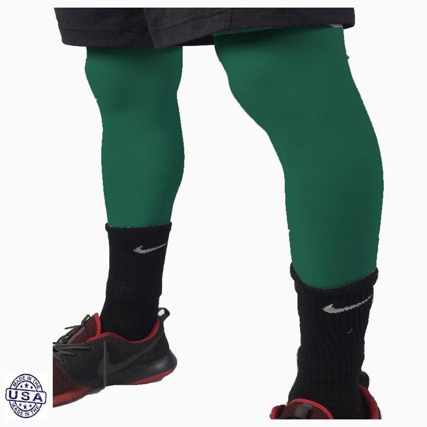 Pair of Celtics Green Basketball Leg Sleeves