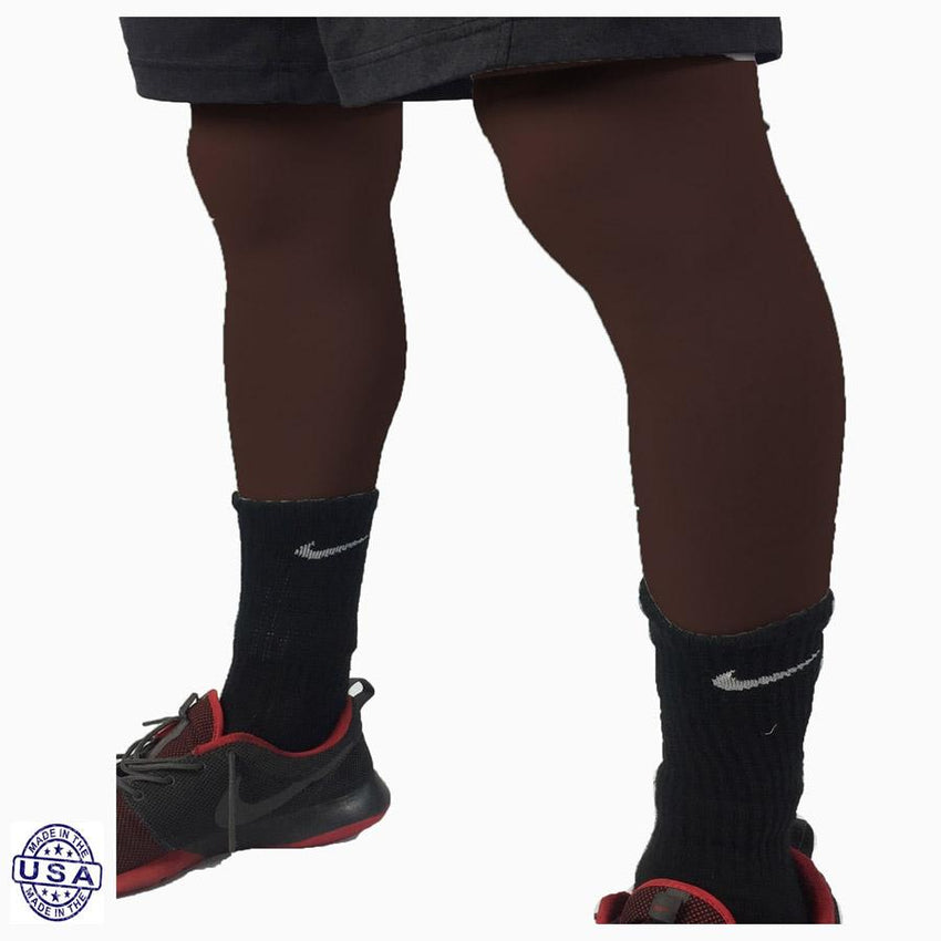 Pair of Chocolate Brown Basketball Leg Sleeves