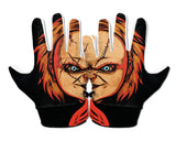 CHUCKIE Custom Football Glove Upper Hand Design