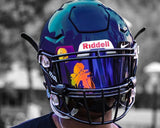 DIGGS Custom Football Visor