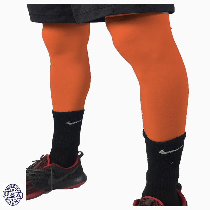 Pair of Gators Orange Basketball Leg Sleeves