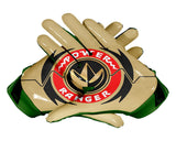 Palms Green Power Ranger Football Glove