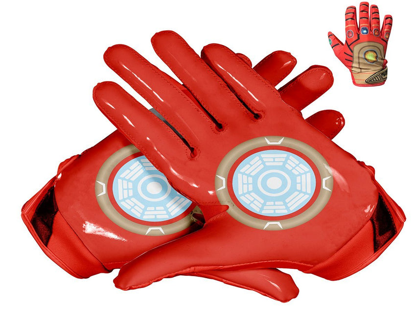 NEBULA Custom Football Glove Palm & Upper Hand Design