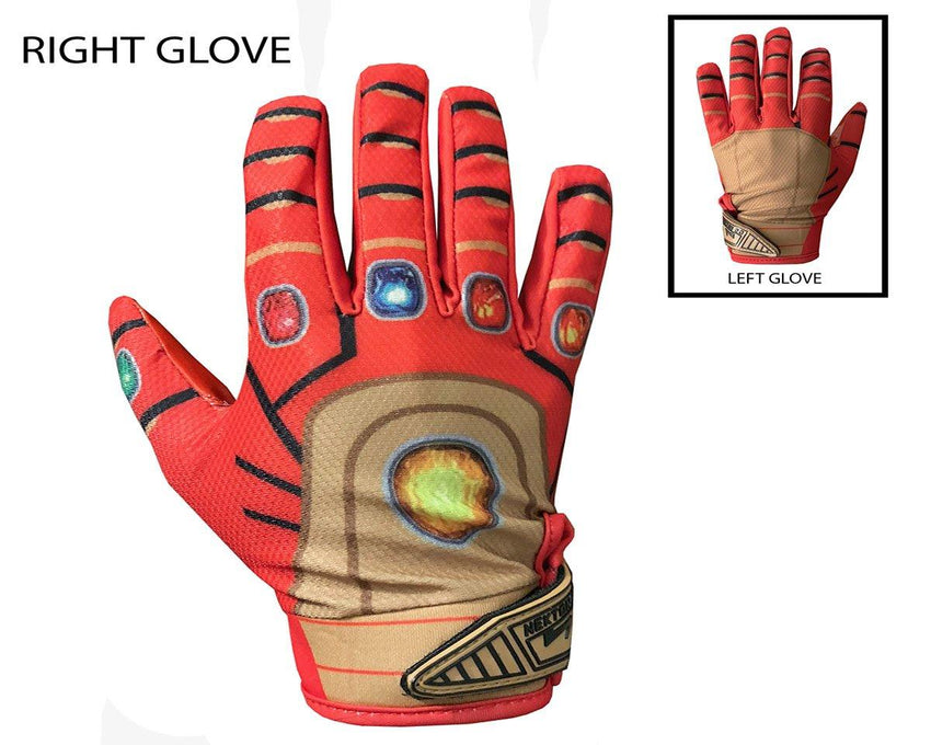 NEBULA Custom Football Glove Upper Hand Design
