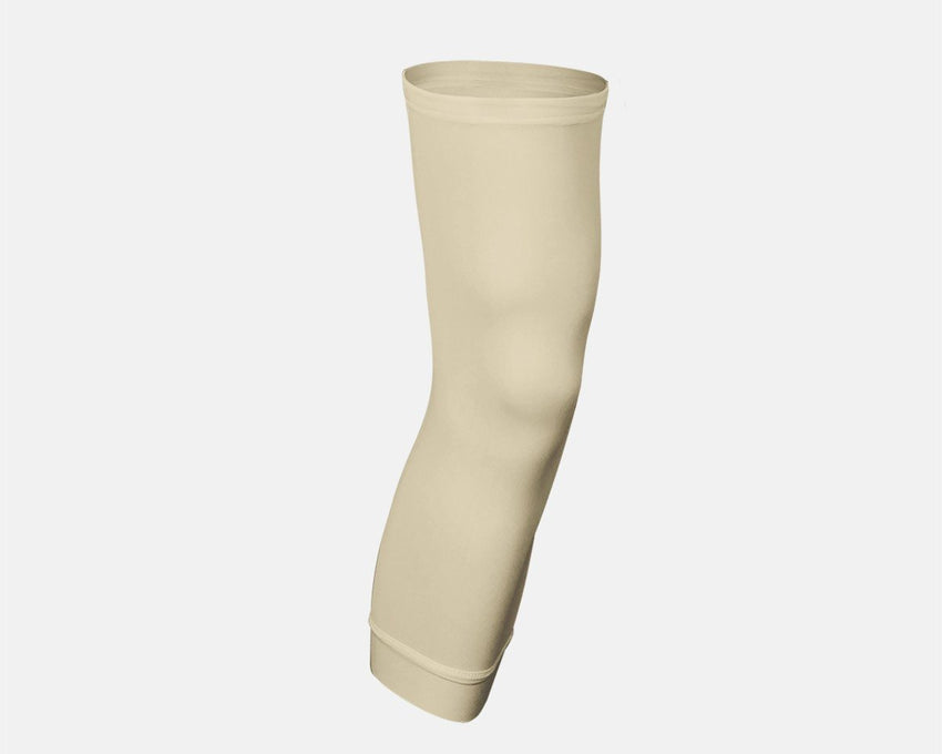 Light Skin Tone Single Basketball Compression Leg Sleeve