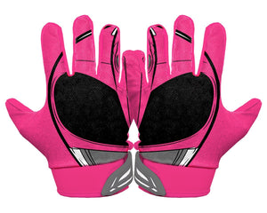 Thumbnail Back Hands Pink Power Ranger Football Glove