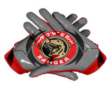 Palms Red Power Ranger Football Glove