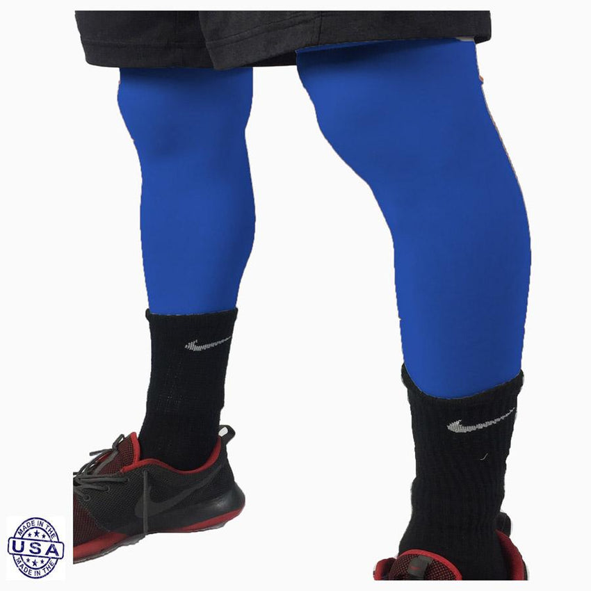 Pair of Royal Blue Basketball Leg Sleeves