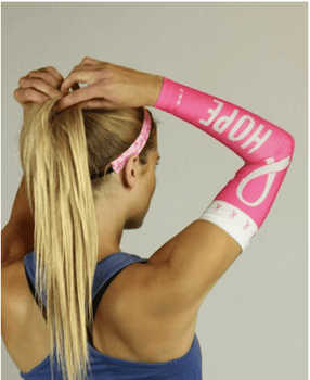 Hope Pink Compression Arm Sleeve