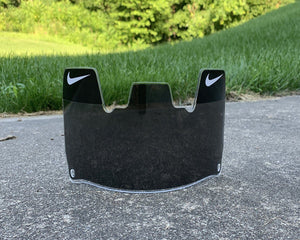 Solid Smoke Grey Tint Custom Football Visor