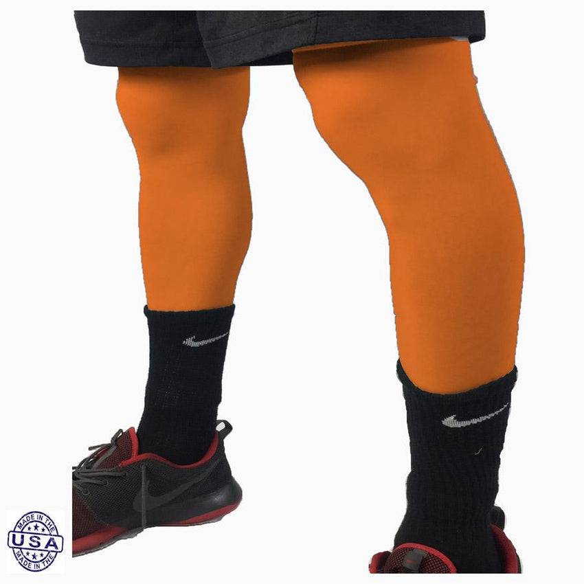 Pair of Tennessee Orange Basketball Leg Sleeves