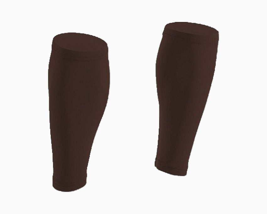 Pair of Chocolate Brown Calf Sleeves