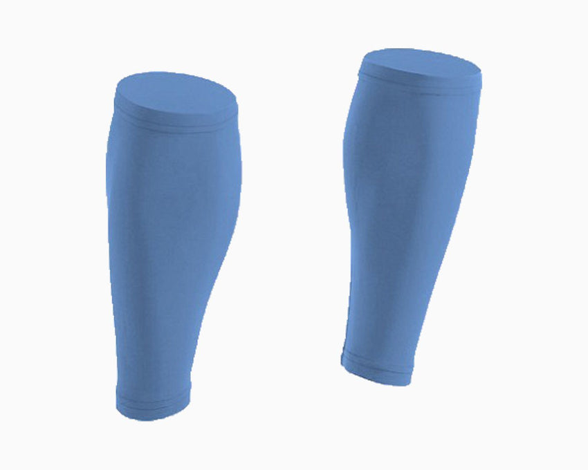 Carolina Blue Pair of Calf Sleeves