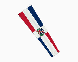 Dominican Flag Compression Arm Sleeve
