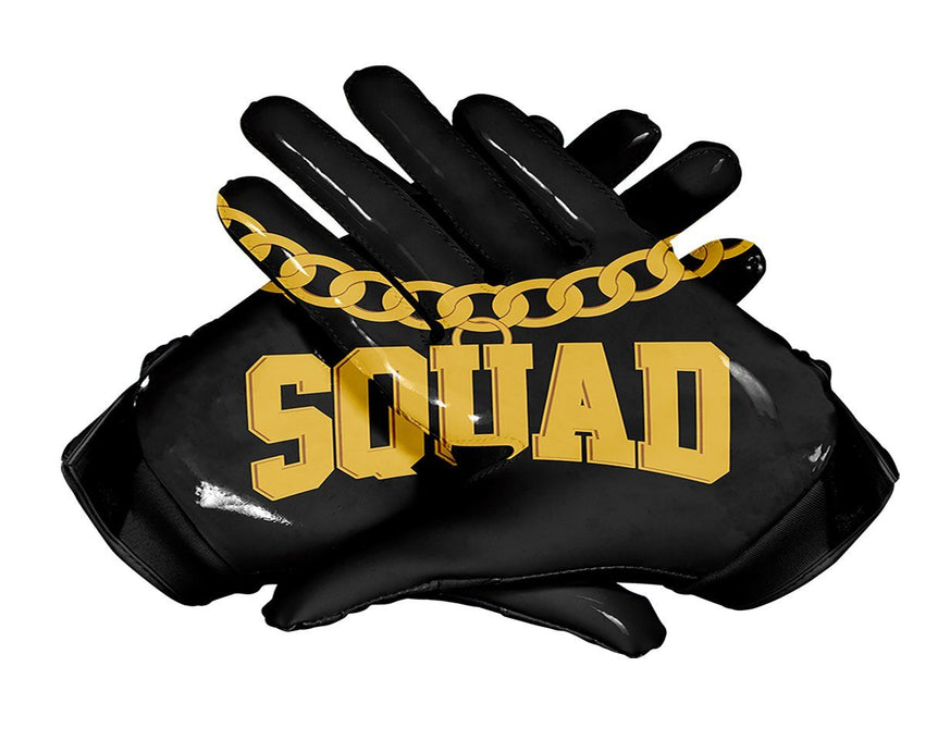 GOON SQUAD Custom Football Glove Palm Design