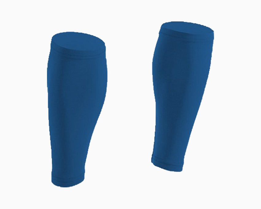 Navy Calf Compression Sleeves