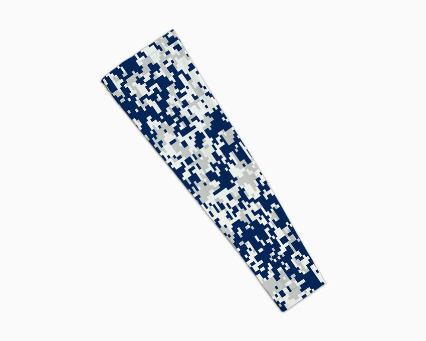 Navy Grey Digi Arm Sleeve