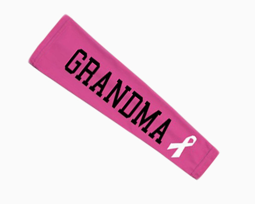 Pink Ribbon Grandma Arm Sleeve
