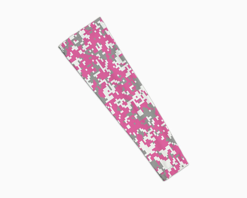 Pink Grey Digi Arm Sleeve