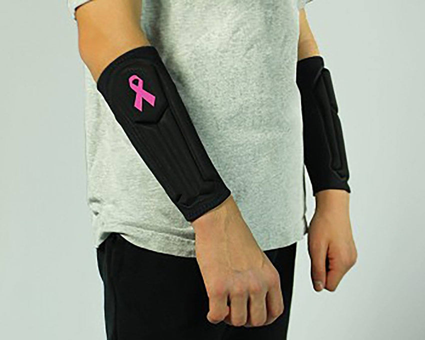 Pink Padded Forearm Sleeve (Pair)
