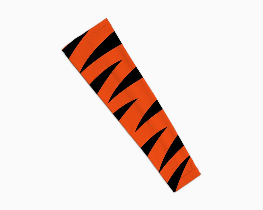 Tiger Orange Black Arm Sleeve