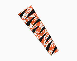 Tiger Orange Black Digi Arm Sleeve